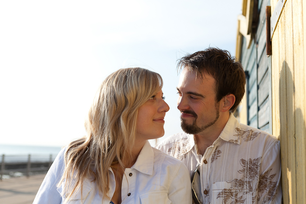 Romantic Beach Engagement Photography Westgate on Sea, Kent Wedding Photographer