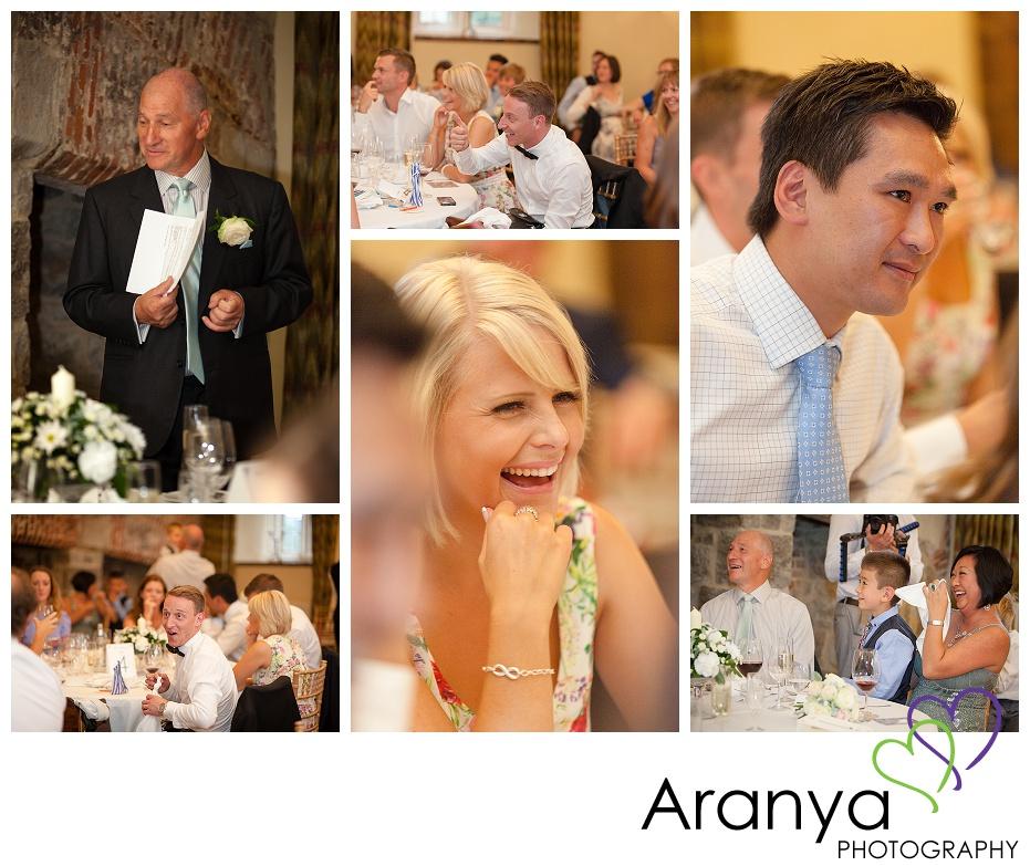 Wedding reception at Leeds Castle