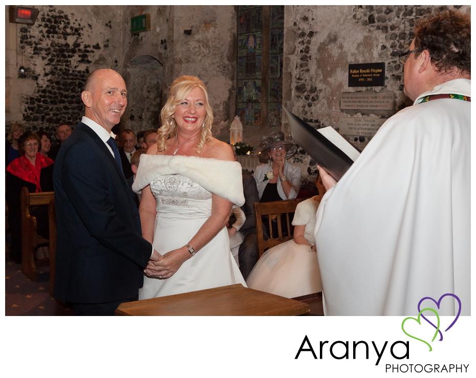 Salmestone Grange wedding photograph