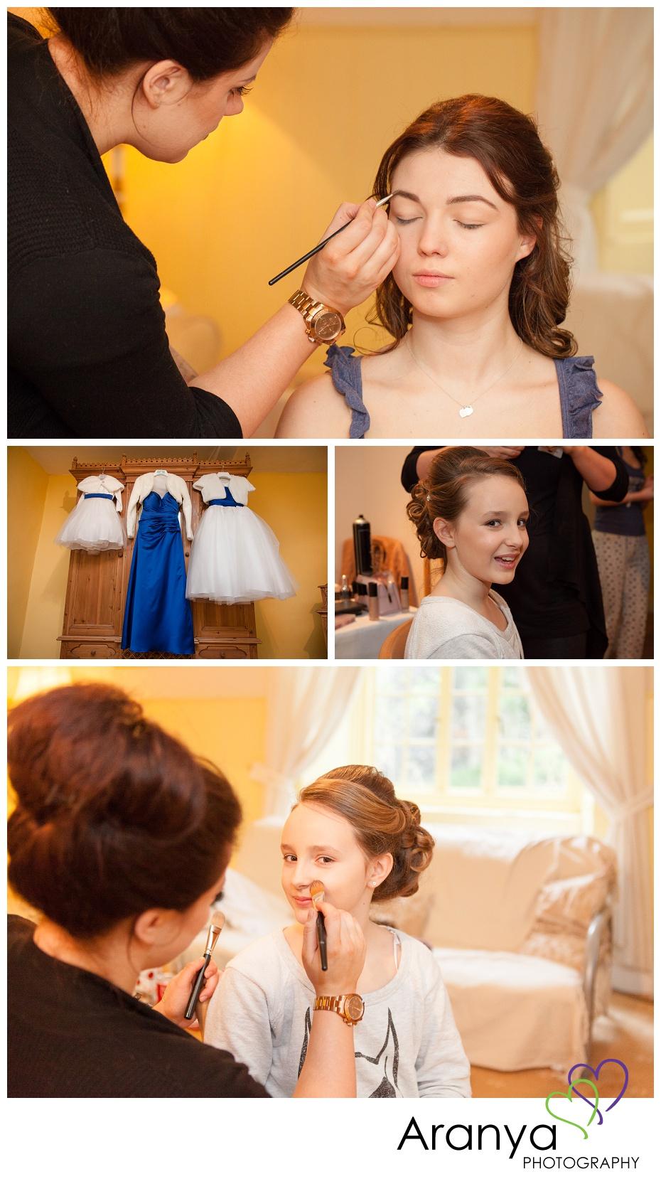 Bridesmaids at Salmestone Grange