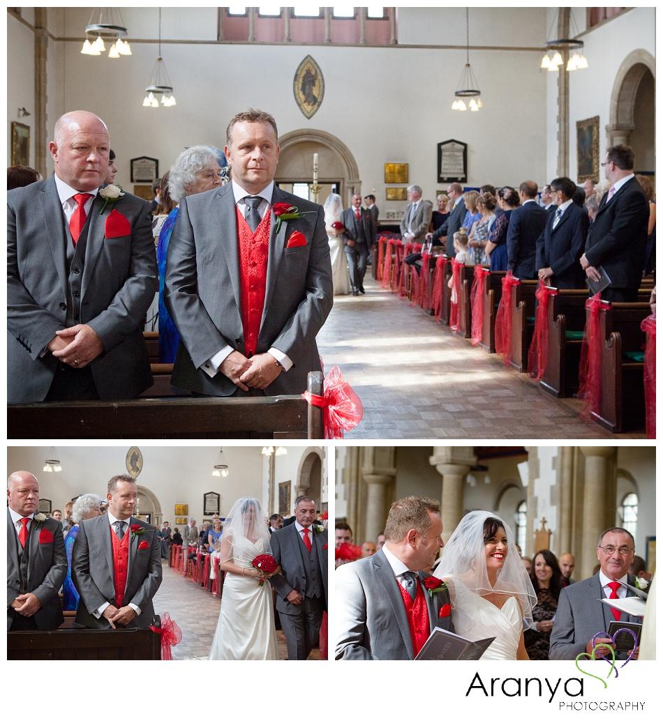 Holy Trinity church Broadstairs wedding photographer