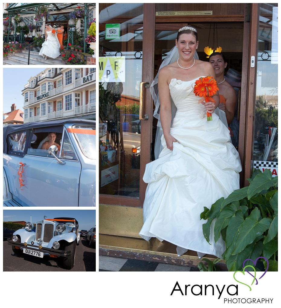 Walpole Bay hotel wedding photography