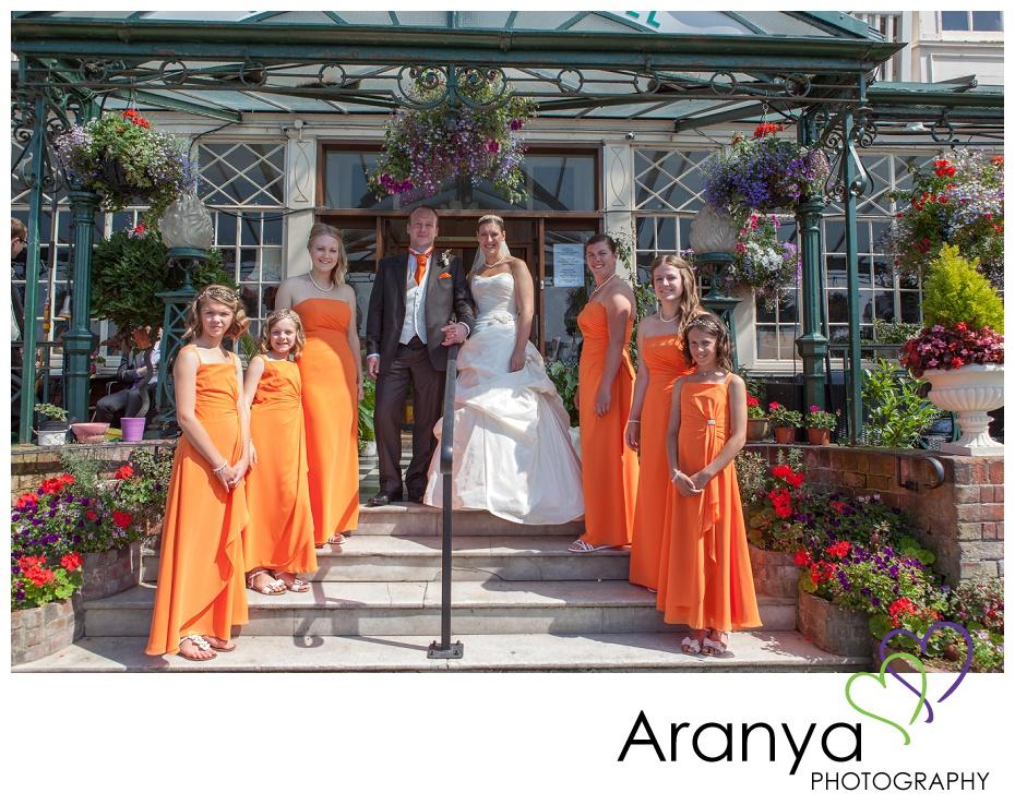 Walpole Bay hotel wedding photographer