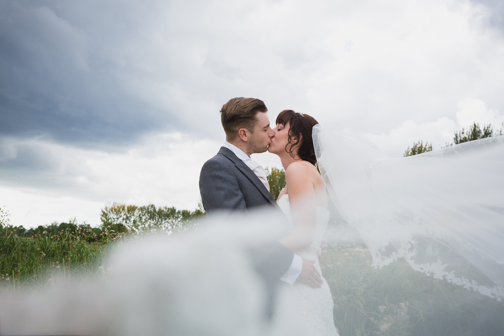 Creative and elegant wedding photography in Kent