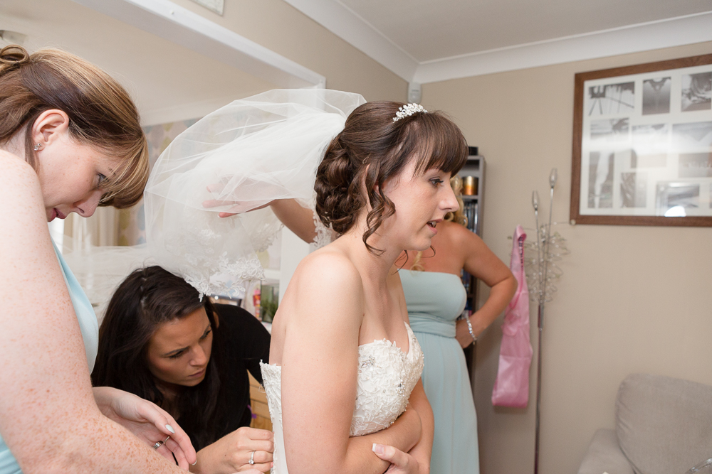 Natural Wedding photography in Kent