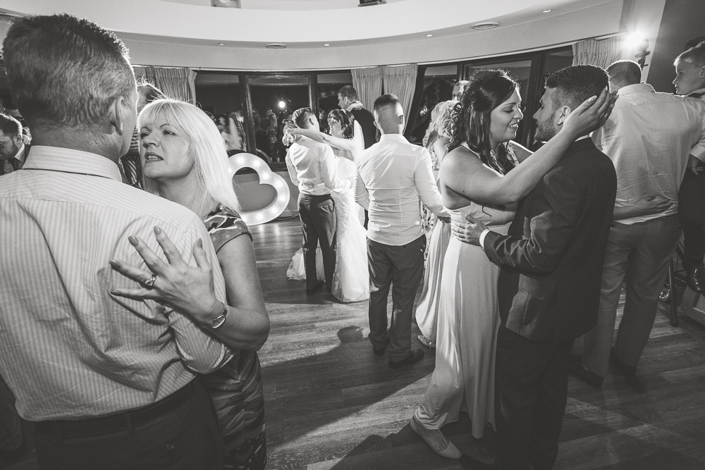 Black and white Wedding photographer in Kent