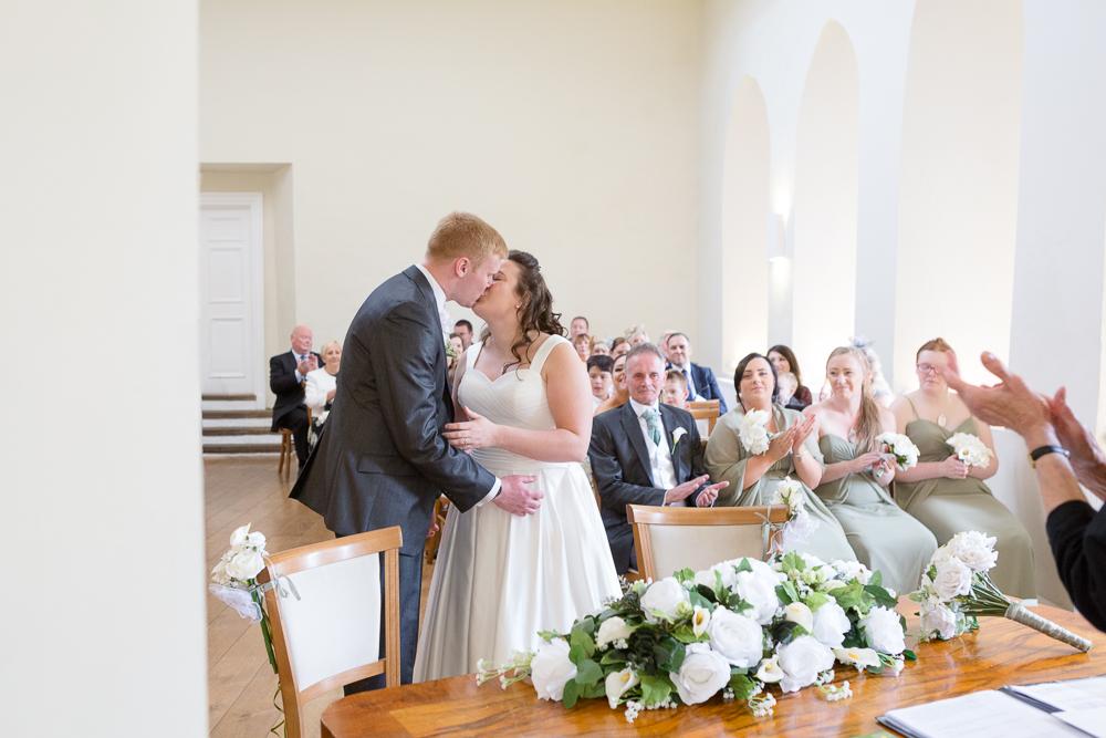 Reportage wedding photography in Farnham