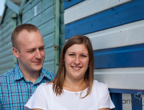 Vikki and Dave's pre-wedding shoot – Westgate Beach