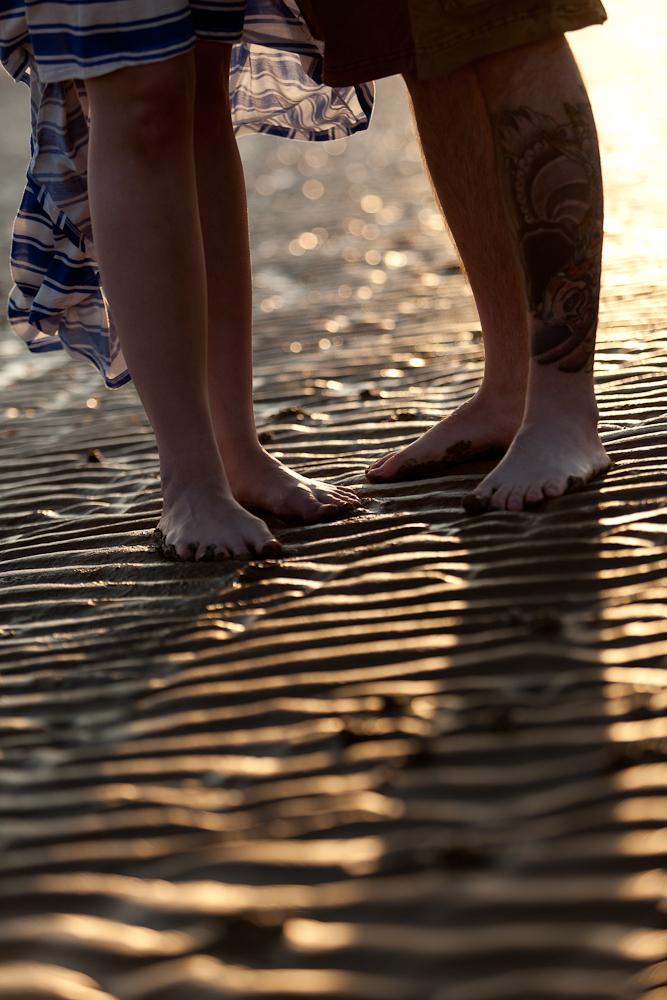 Romantic Beach Engagement Photography, Kent Wedding Photographer