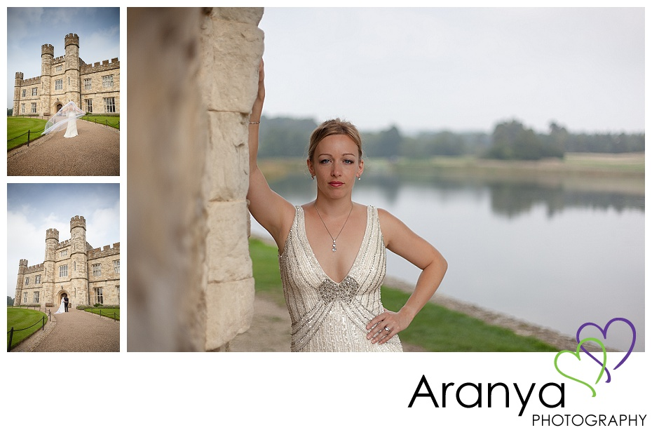 Wedding photographer at Leeds Castle
