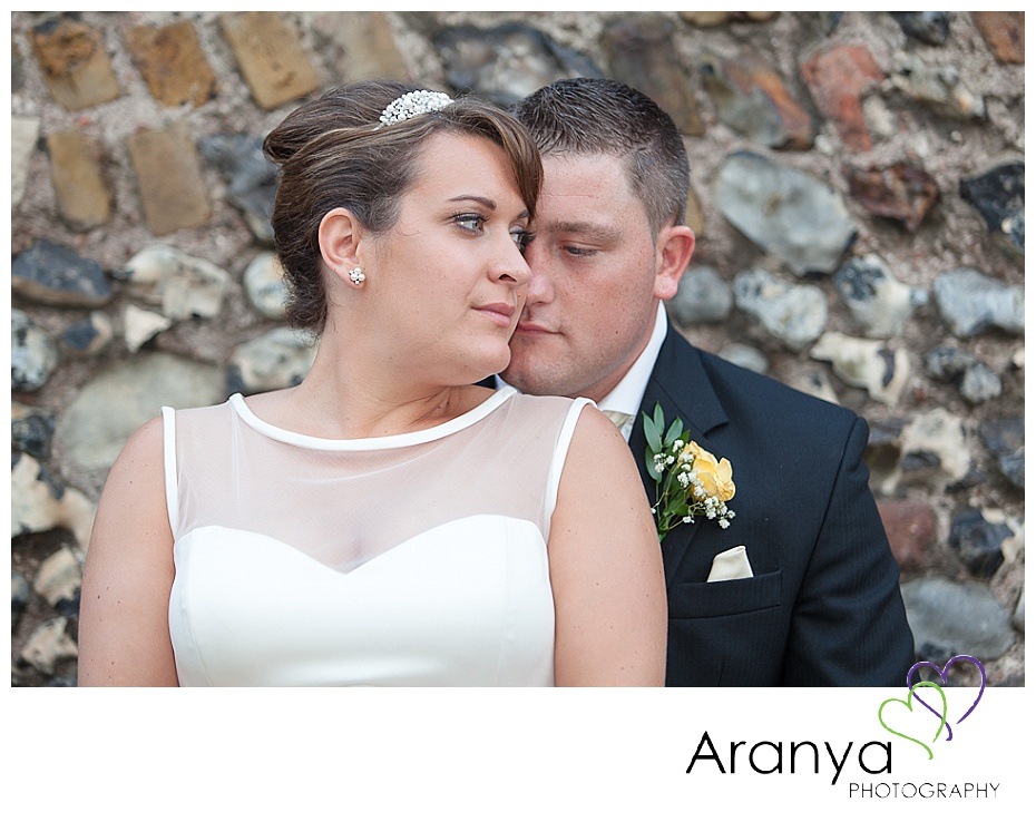 Wedding portraits at Pegwell Bay Hotel