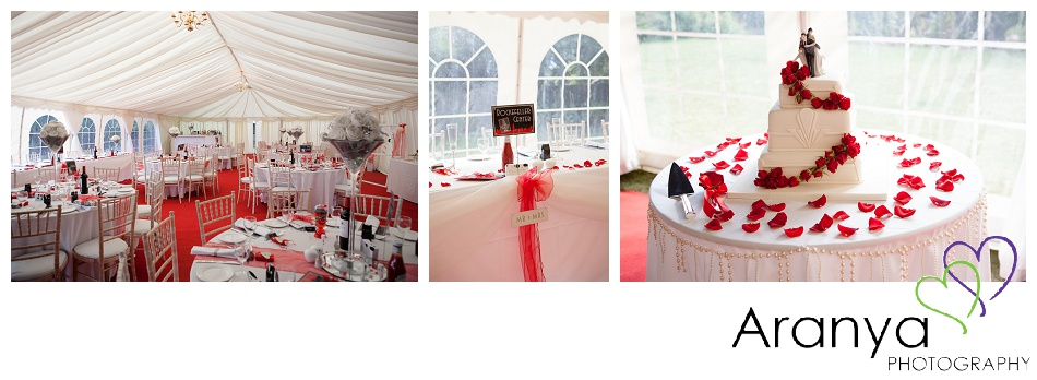 Wedding marquee at Bleak House Broadstairs
