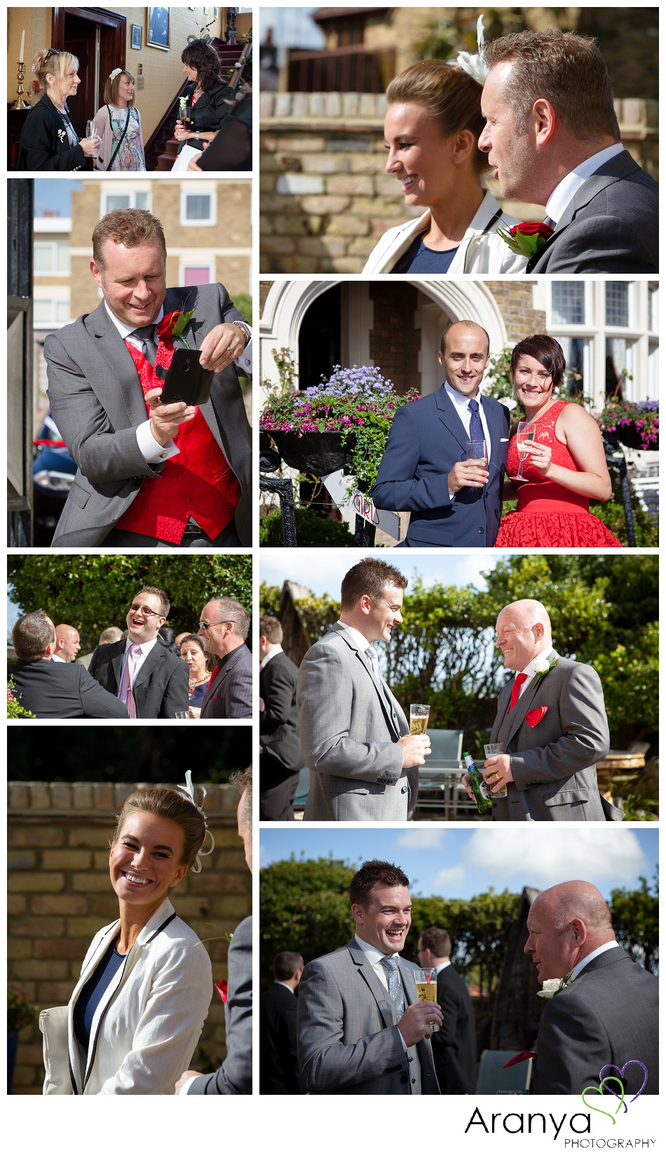 Wedding Guests at Bleak House Broadstairs