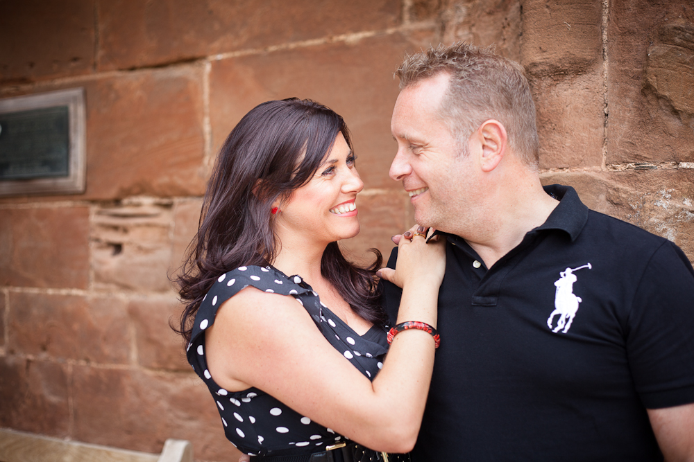 Kenilworth Castle Engagement Photography
