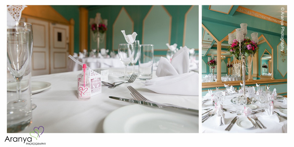 Abbots Barton Hotel Wedding Reception