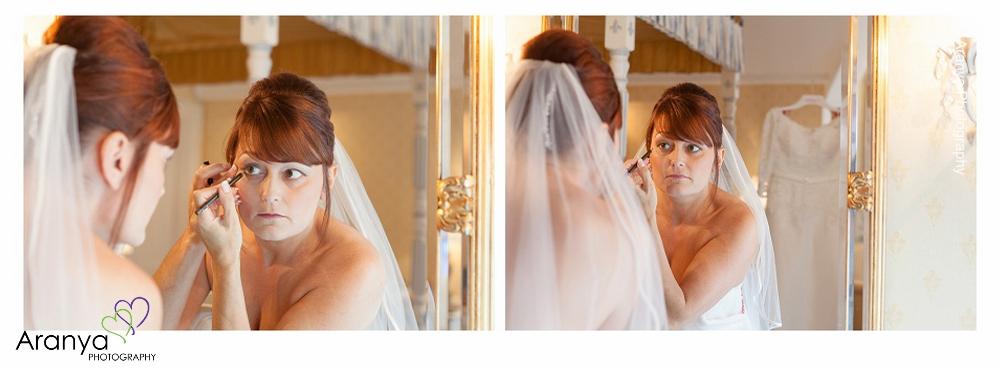 Bridal Prep at Abbots Barton Hotel