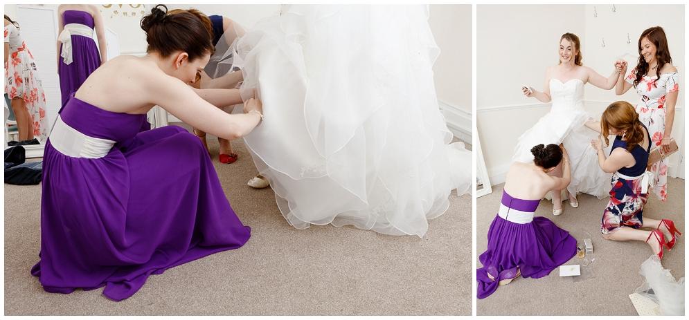 Bridal prep at St Augustines