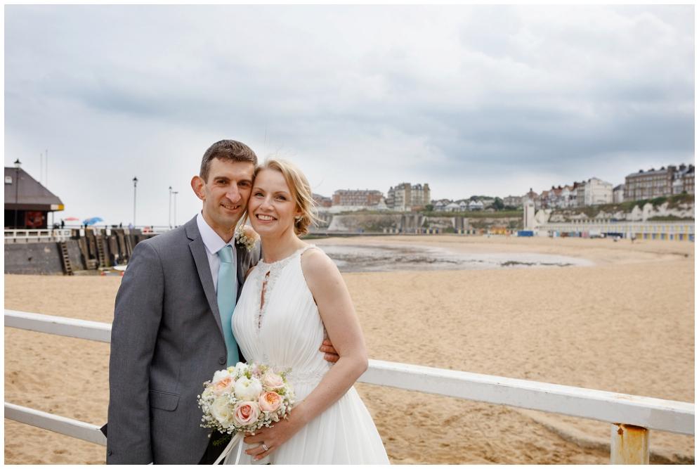 Wedding couple portrait photo