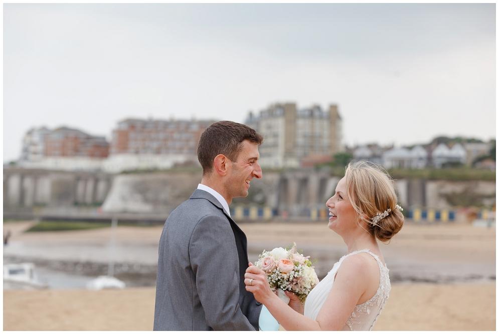 Broadstairs Beach wedding