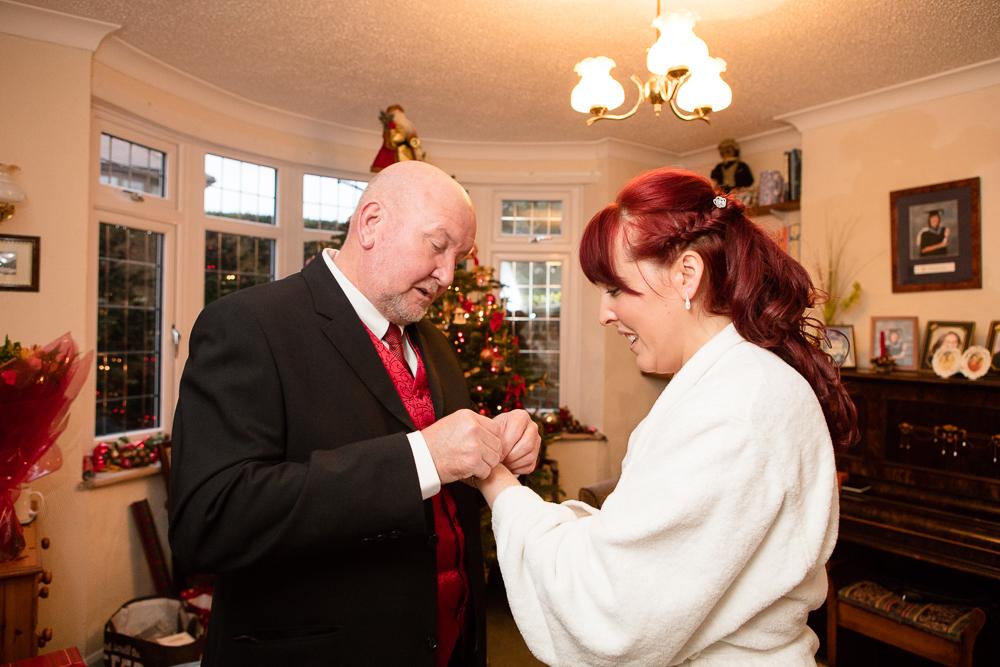 Christmas Wedding Photography (41)