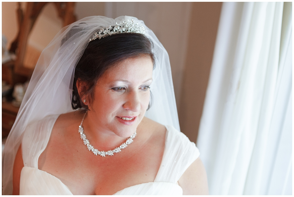 Bridal Portrait at Salmestone Grange