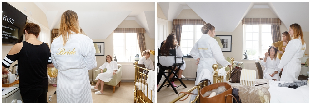 Leeds Castle bridal prep | Aranya Photography