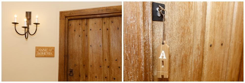 Castle door details
