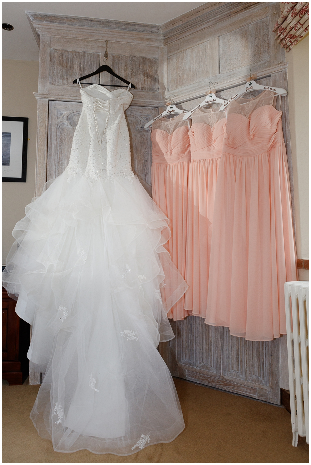 Wedding Dress and bridesmaid's dresses | Leeds Castle