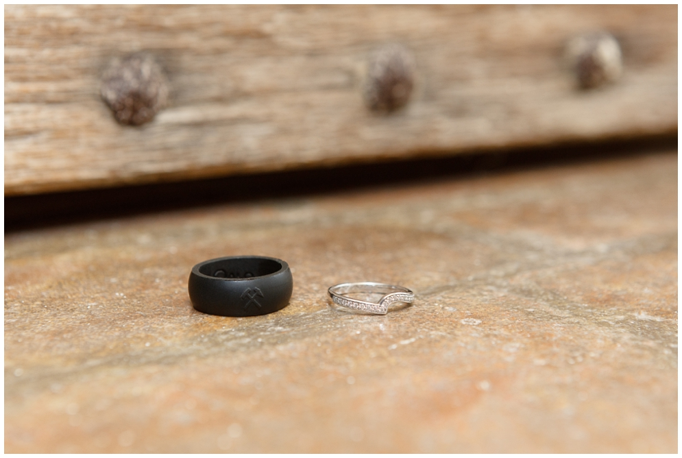 Unusual Wedding Rings   Aranya Photography