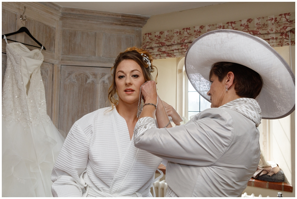 Bridal Prep at Leeds Castle