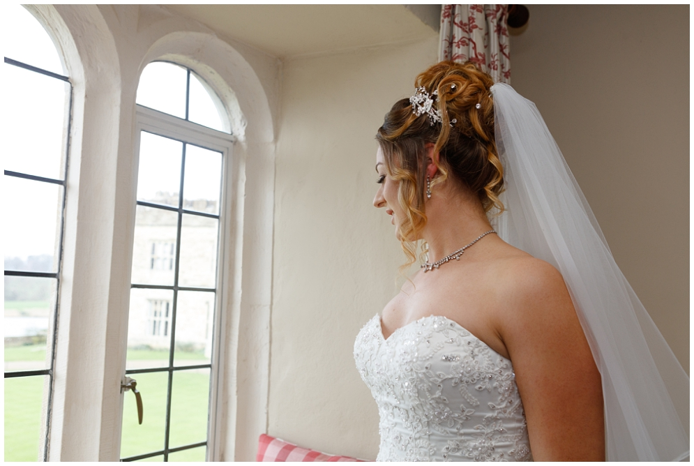 Bride at Leeds Castle