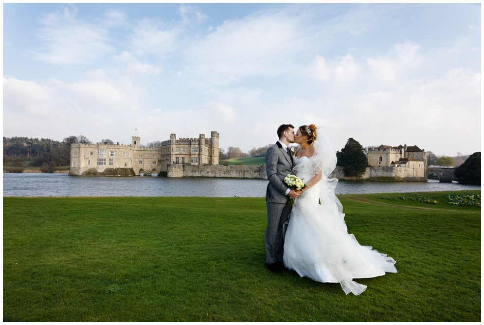 Bride and Groom | Leeds Castle Wedding
