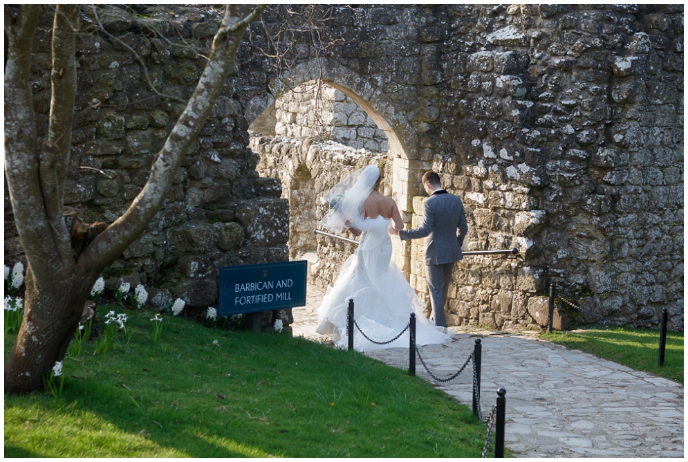 Wedding at Leeds Castle