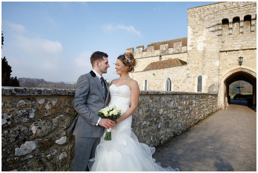 Beautiful wedding photography at Leeds Castle