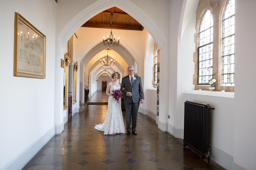 Twilight wedding photography