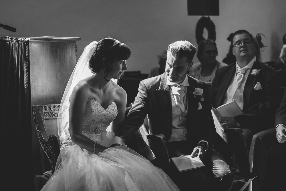 Elegant black and white photography in Kent