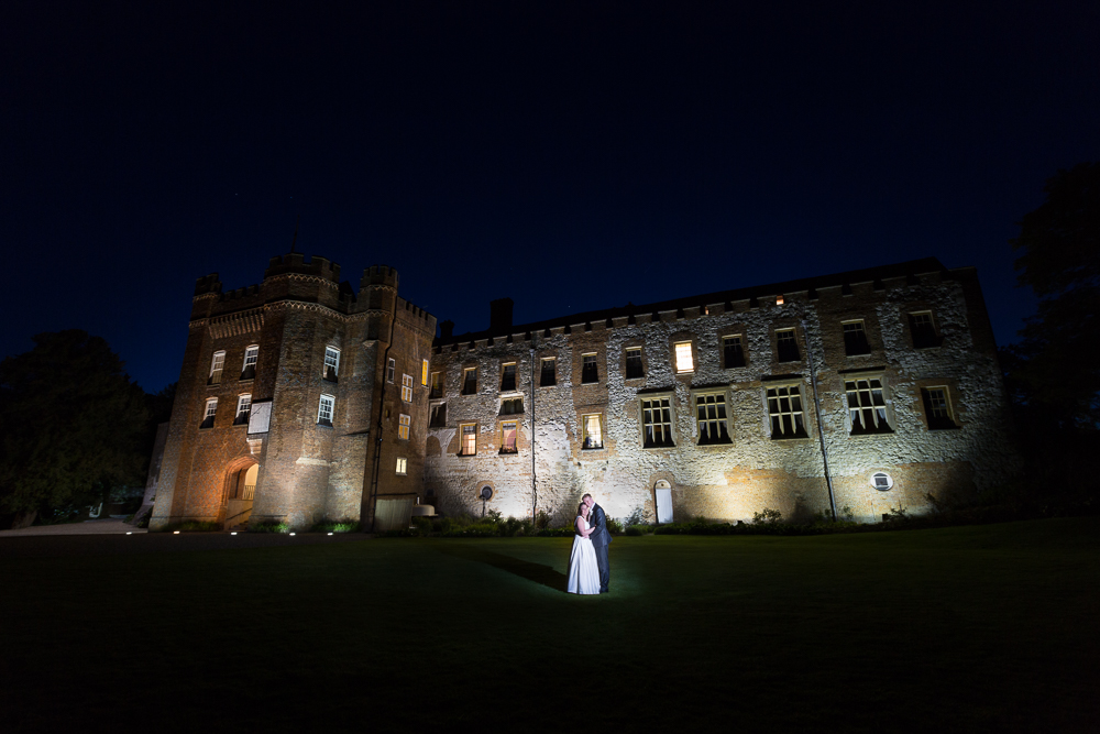 Creative castle wedding photography