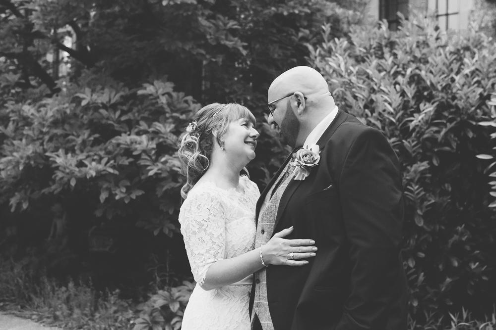 Black and white wedding photographer   Aranya Photography